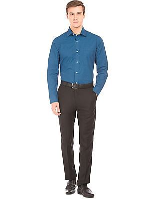 Arrow Regular Fit Geometric Print Shirt