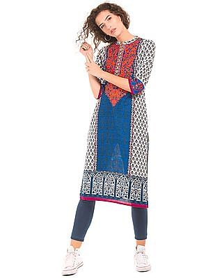 Anahi Regular Fit Printed Kurta