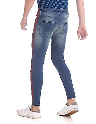 Colt Skinny Fit Distressed Jeans