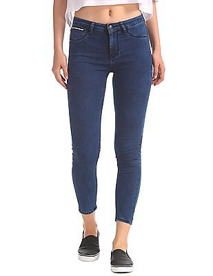 EdHardy Women Jegging Fit Mid Rise Jeans