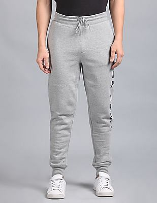 GAP Heathered Logo Joggers