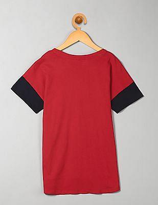 GAP Girls Red Embellished Tee