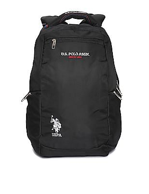 U.S. Polo Assn. Textured Laptop Backpack