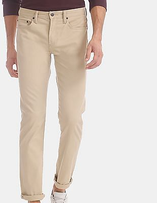 GAP Beige Slim Jeans With GapFlex