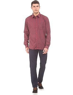Excalibur Slim Fit Gingham Shirt