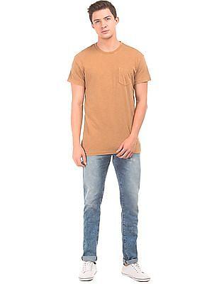 Aeropostale Slubbed Regular Fit T-Shirt