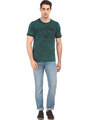 Cherokee Dyed Regular Fit T-Shirt