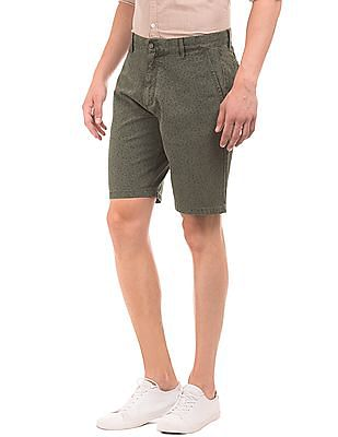 Arrow Sports Printed Regular Fit Shorts