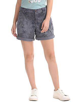 GAP Print Girlfriend Shorts