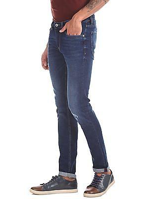 Arrow Sports Justin Skinny Fit Stone Wash Jeans