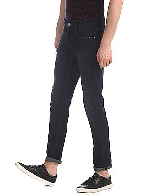 U.S. Polo Assn. Denim Co. Blue Brandon Slim Tapered Fit Washed Jeans