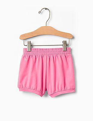 GAP Toddler Girl Jersey Bubble Shorts