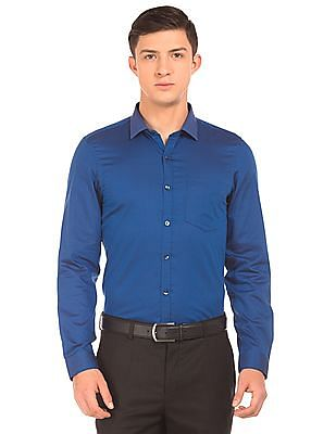 Elitus Patterned Weave Slim Fit Shirt