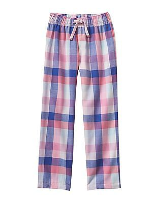 GAP Girls Pink Flannel PJ Pants