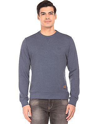 2cb445bda5916 Buy Men Long Sleeve Slim Fit Sweatshirt online at NNNOW.com