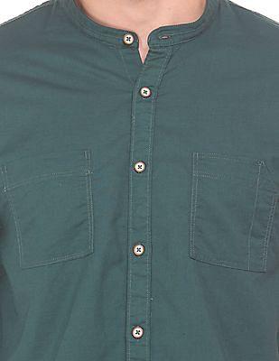 Cherokee Solid Regular Fit Shirt