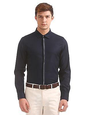 Excalibur Striped Super Slim Fit Shirt