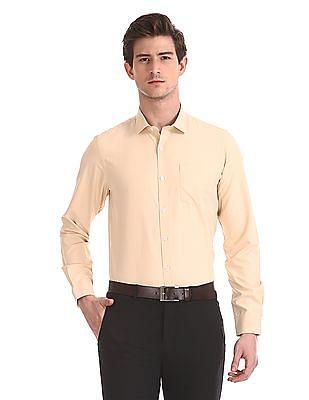 Excalibur Semi Cutaway Collar Solid Shirt
