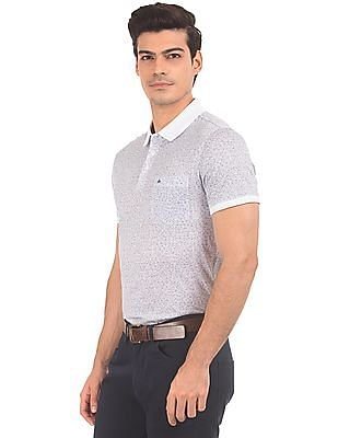 Arrow Short Sleeve Printed Polo Shirt