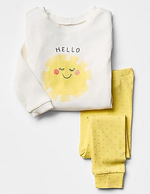 GAP Baby Hello Sunshine Sleep Set