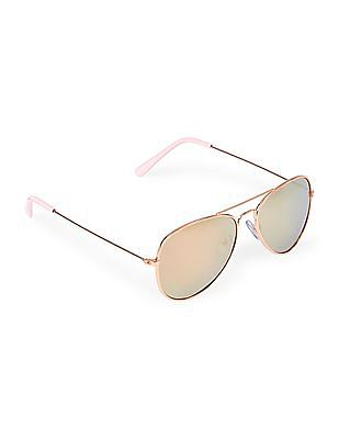 The Children's Place Girls Metal UV Sunglasses