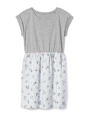 GAP Girls Unicorn Mix Fabric Dress