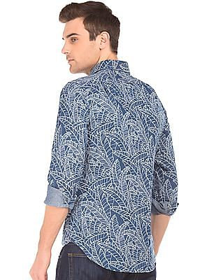 Gant Tropical Print Fitted Shirt