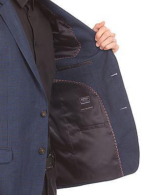 Arrow Single Breasted Linen Blazer