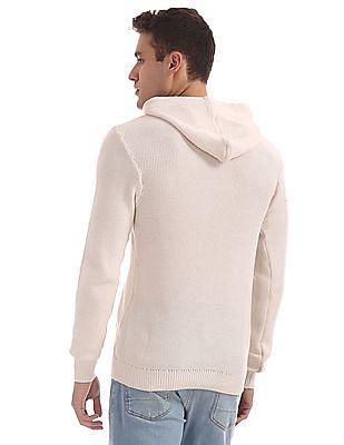 Aeropostale Hooded Knit Sweatshirt