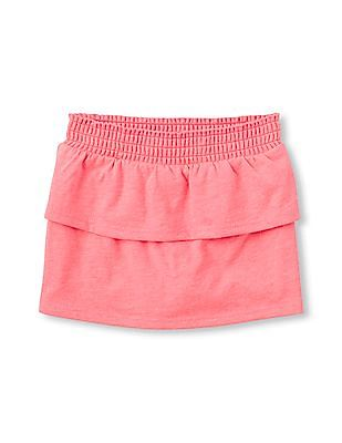 The Children's Place Toddler Girl 2-Tiered Knit Active Skort