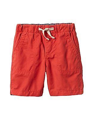 GAP Baby Pull On Twill Shorts