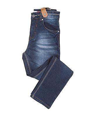Cherokee Boys Dark Wash Slim Fit Jeans