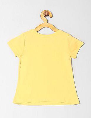 GAP Toddler Girl Logo Short Sleeve T-Shirt