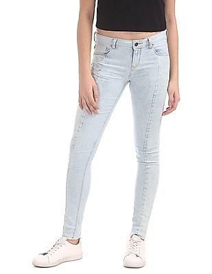 Cherokee Skinny Fit Bleached Jeans