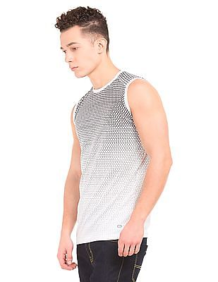 Colt Geometric Print Active Muscle T-Shirt