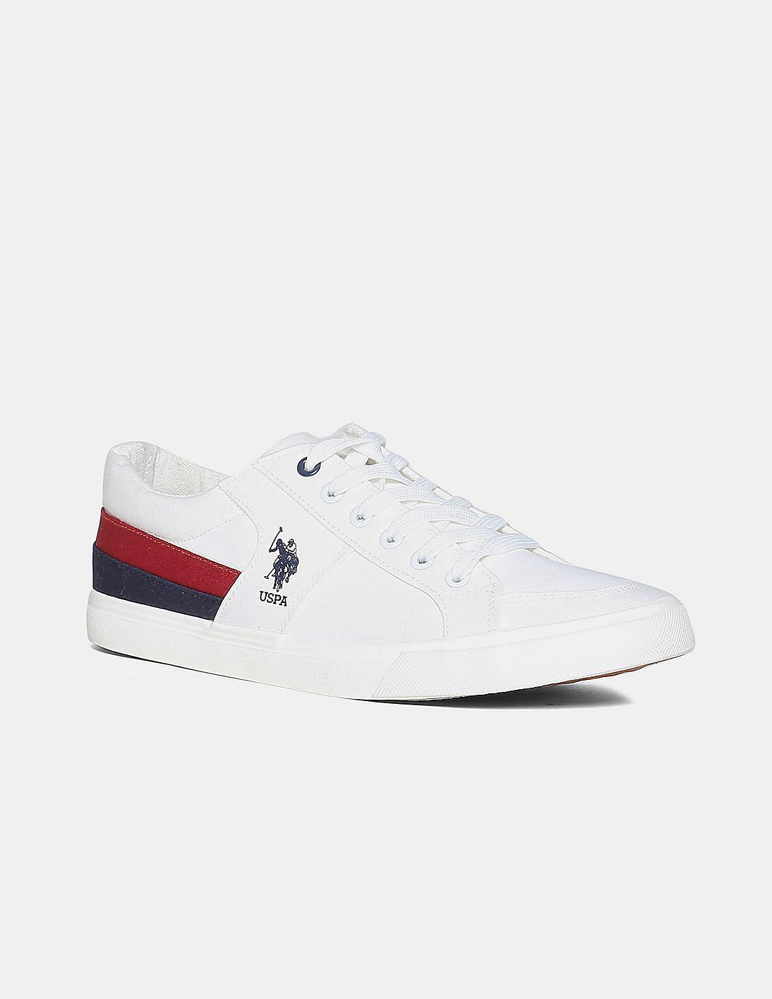 US Polo Assn.Canvas Lace Up Sneakers