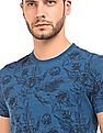 Izod Floral Print Cotton T-Shirt