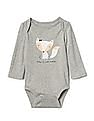 GAP Baby Graphic Long Sleeve Bodysuit