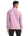 Arrow Pink French Placket Patterned Shirt