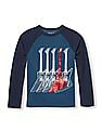 The Children's Place Boys Long Raglan Sleeve Graphic Top