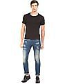 Flying Machine Slim Tapered Fit Whiskered Jeans