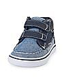 The Children's Place Toddler Boy Chambray Indie Boat Shoe