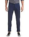 Arrow Sports Slim Fit Solid Trousers