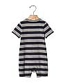 GAP Baby Logo Stripe Shortie One Piece