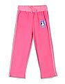 Day 2 Day Girls Elasticized Waist Solid Track Pants