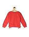 Colt Red Girls Mickey Mouse Graphic Sweatshirt