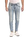 Flying Machine Ankle Fit Stone Wash Jeans