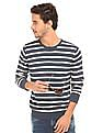 Ed Hardy Striped Regular Fit Sweater