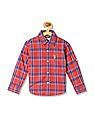 U.S. Polo Assn. Kids Boys Cotton Check Shirt