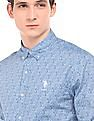 U.S. Polo Assn. Paisley Print Tailored Fit Shirt
